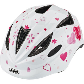 ABUS Anuky Helm Kinder white heart